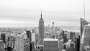 Sky line New York van Raymond Samson