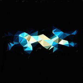 Abstrakte geometrische Dreiecke von Maurice Dawson