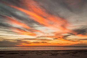 Prachtige zonsondergang in Broome