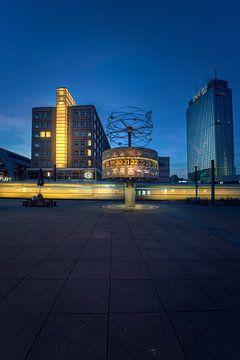 Berlin Weltzeituhr (2) von Iman Azizi