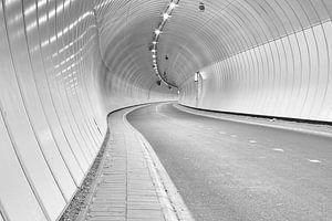 Heinenoord bicycle tunnel underneath De Oude Maas