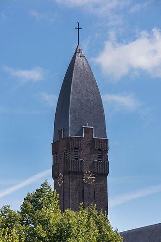Toren Heilig Hart Kerk, De Gorzen, Schiedam van