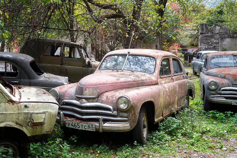 Verrostetes Auto. von Roman Robroek