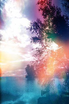 Pastell Lichtspiel über mehr  von Carin Klabbers