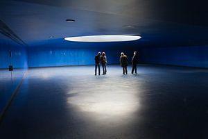 Blauwe ruimte van