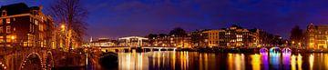 Panorama Magere Brug Amsterdam sur Anton de Zeeuw