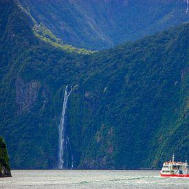 Milford Sound, Zuider Eiland, Nieuw Zeeland van Henk Meijer Photography
