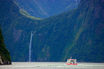 Milford Sound, South Island, Nouvelle-Zélande sur Henk Meijer Photography
