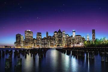 New York Sky Line, Nanouk el Gamal van 1x