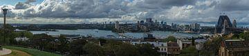 Sydney Harbour Panorama van Tessa Louwerens