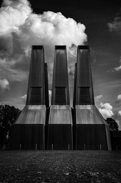 Warmtekrachtcentrale Universiteit van Utrecht van John Verbruggen