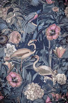 Tropenparadies mit Flamingos