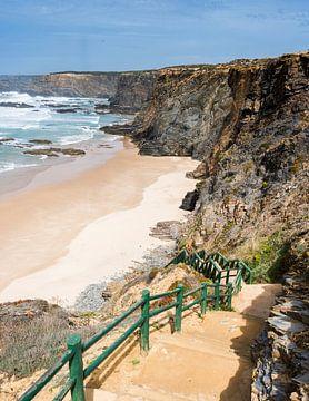 atlantic ocean beach portugal