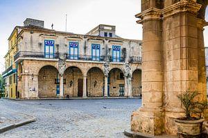Klooster in Havana, Cuba van Joke Van Eeghem