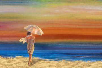 strandwandeling van Marion Tenbergen