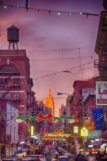 New York Little Italy van John ten Hoeve