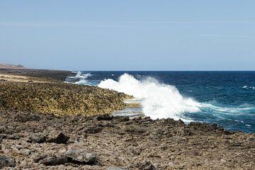 Curacao, ruige kust no. 2 von Arnoud Kunst