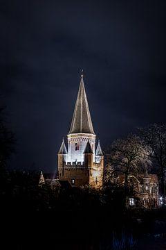 Drogenapstoren bij nacht van Arnold van Rooij