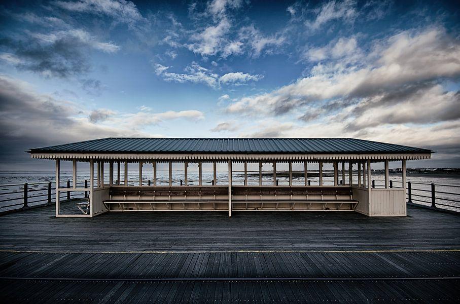 Southport pier in U.K.