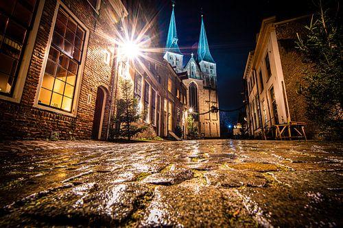 Middeleeuwse bergkerk in bergkwartier Deventer