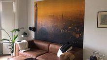 Klantfoto: Den Haag van bovenaf van gaps photography, als behang
