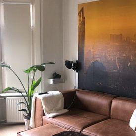 Kundenfoto: Den Haag von oben von gaps photography, auf fototapete