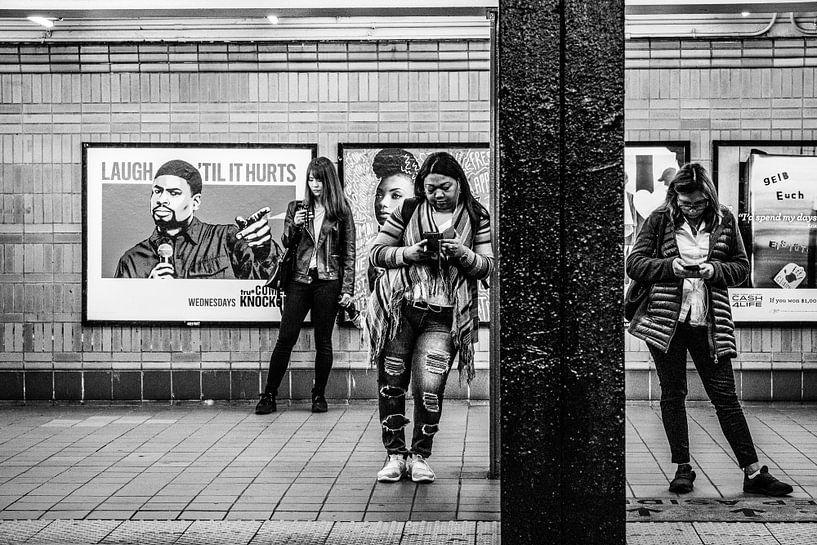Subway Manhattan New York City van Eddy Westdijk