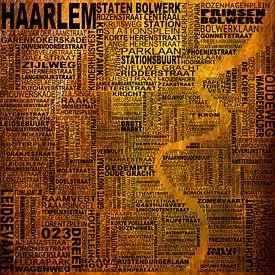 Haarlem Typography van Stef Van Campen