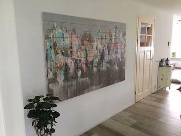 Klantfoto: Connected people Spring van Atelier Paint-Ing