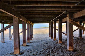 Onder het Strandpaviljoen von