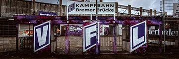 Stade du Brücke de Brême sur de Utregter Fotografie