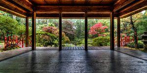 """""""Alle wonderen die je zoekt vind je in je zelf """",  Japanse tuin wijsheden van"""