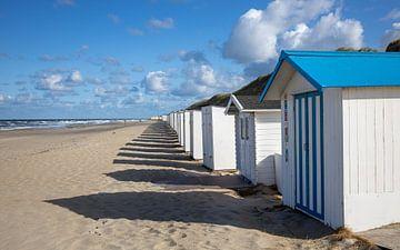 Strandhuisjes van Pieter Heres