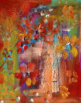 bloemenreis 11 van Claudia Gründler