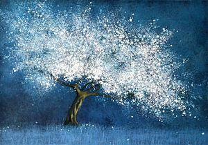 Nachtblau;