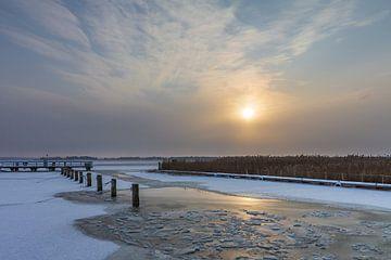 Winter am Bodden bei Wiek von Rico Ködder
