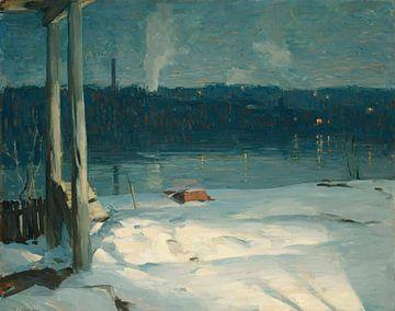 John Fulton Folinsbee~Winter-Nocturne