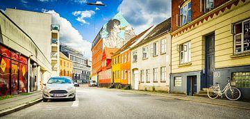 City Centre - Aarhus - Denemarken van Tony Buijse