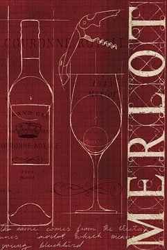 Wijn Blueprint II v2 24x36, Marco Fabiano van Wild Apple