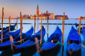 Lever du soleil Place Saint-Marc, Venise, Italie sur Henk Meijer Photography