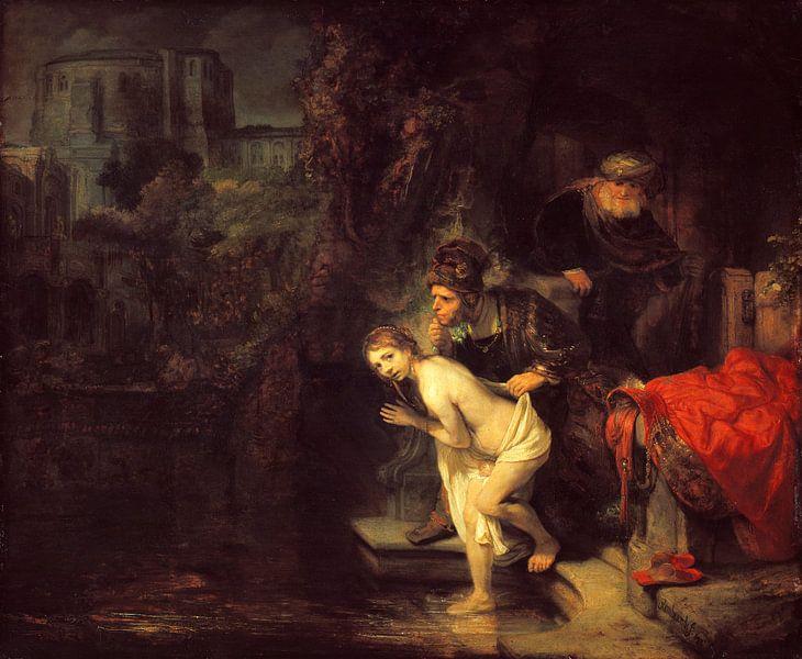 Suzanna und die Ältesten, Rembrandt van Rijn von Rembrandt van Rijn