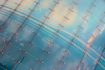 moderne glazen gevel van Heiko Kueverling