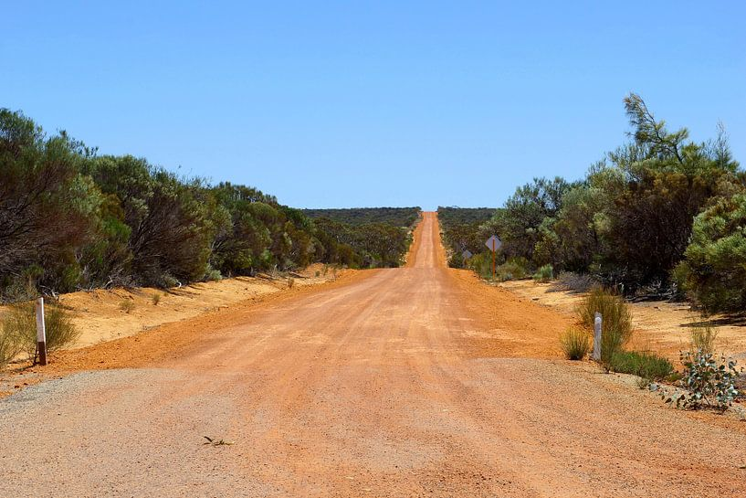 Holland Track,  Outback Australië van Inge Hogenbijl