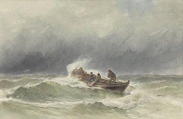 Redding op zee, jonkheer Jacob Eduard van Heemskerck van Beest