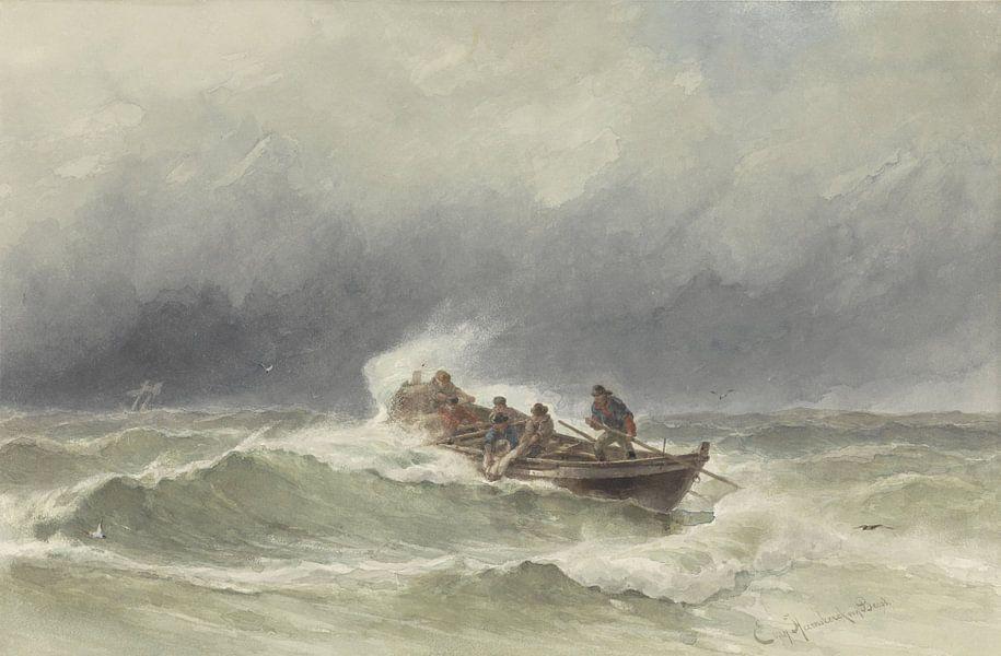Redding op zee, jonkheer Jacob Eduard van Heemskerck van Beest von Meesterlijcke Meesters