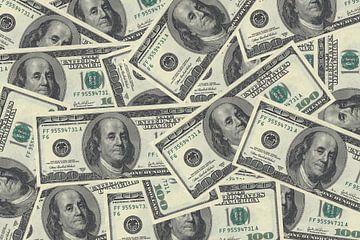 Dollar bankbiljetten van Rutmer Visser