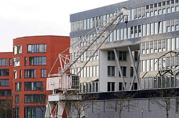 Duisburg binnenhaven (7-23022) van Franz Walter