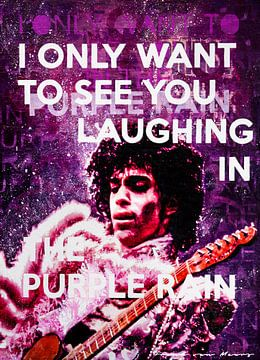 Purple Rain van Frank van Meurs