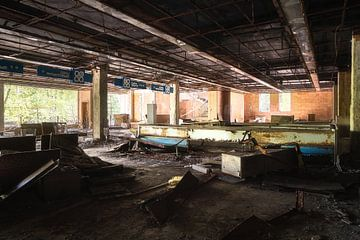 Verlaten Supermarkt. van Roman Robroek
