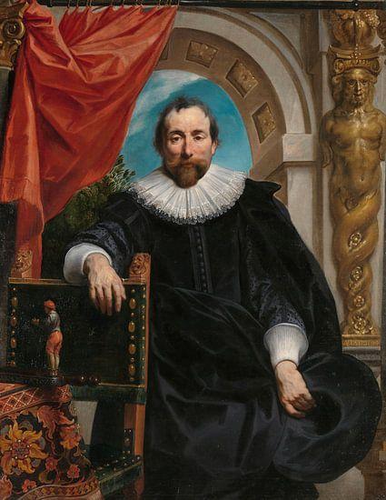 Portret van Rogier Le Witer, Jacob Jordaens (I) van Meesterlijcke Meesters